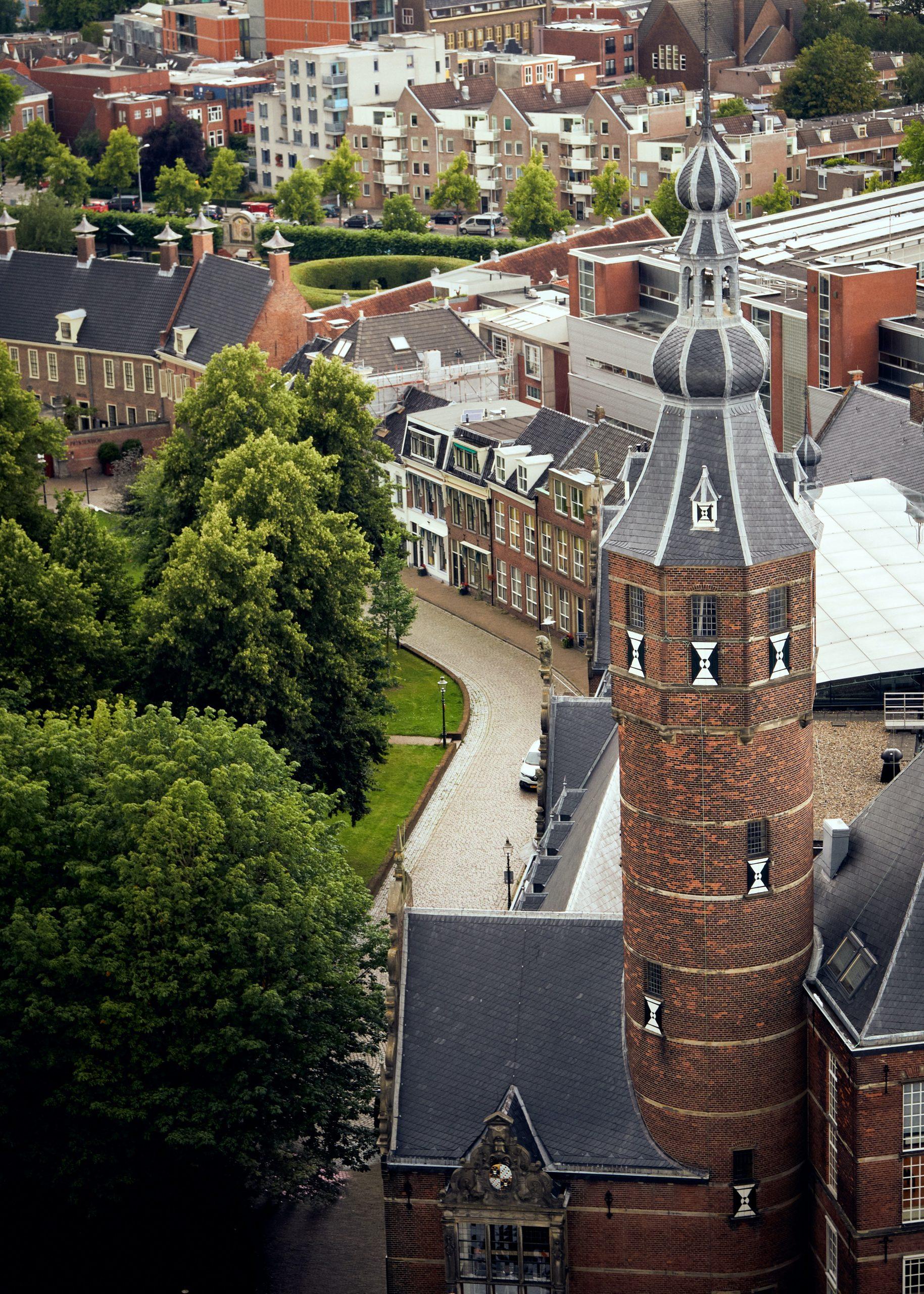 StressWise Academy in de binnenstad van groningen naast de Martinitoren